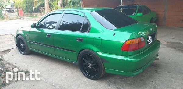 Honda Civic, 1997, PBG-3