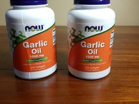 NOW Garlic Oil 1500mg 250 Softgels
