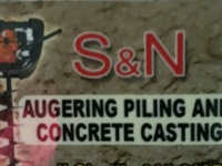 Auger Piling and Casting services