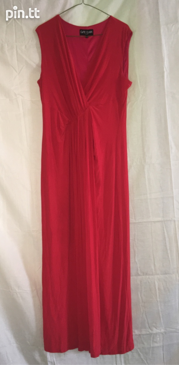 Semi-formal Scarlet Dress-1