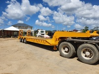 Tri-Axle Equipment Trailer