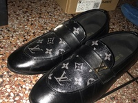 Black Louis Vuitton Mens Shoes