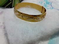10 k gold baby sleeve band