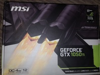 MSI GTX 1050 TI 4GT OC Graphics card