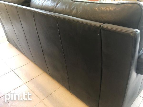 Couch, Genuine Leather-3