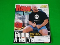 WWE Raw Magazine - 14 issues from 2001 to 2004