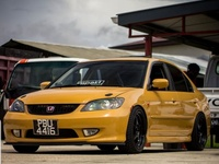 Honda Civic, 2001, PBU