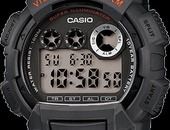 Genuine CASIO Waterproof Watch with Vibro Alarm and LED light
