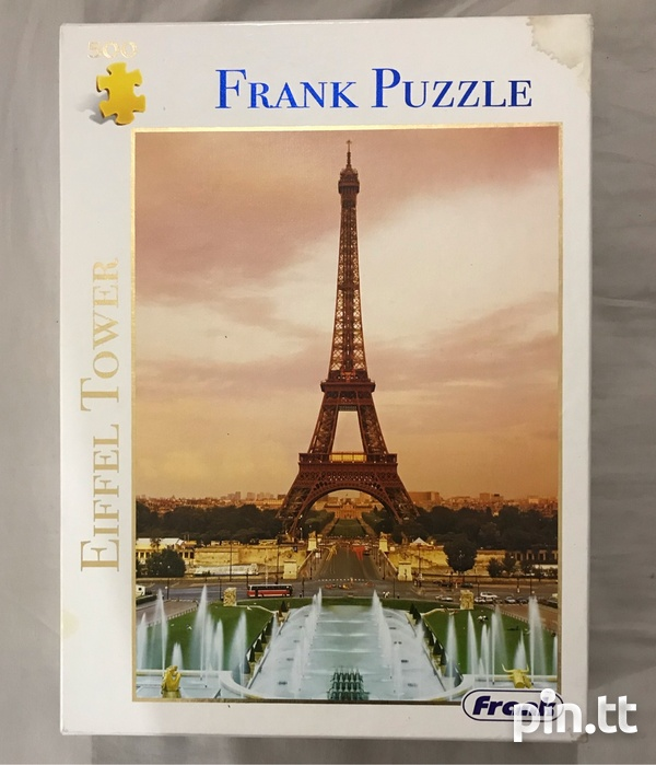 500 Piece Beautiful Eiffel Tower Puzzle