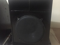18in speaker in box