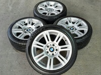 BMW 17 inch M-Sport Staggered Wheels and Runflats