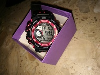 QQ sports watch 10 bar, can be used for diving/swimming