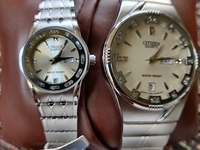 All Silver Citizen His+Her's Watches New For The Pair