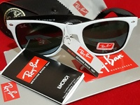 Ray Ban White and Black