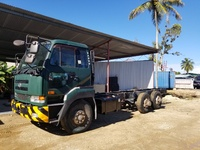 FOREIGN USED Nissan 10 wheeler- V front