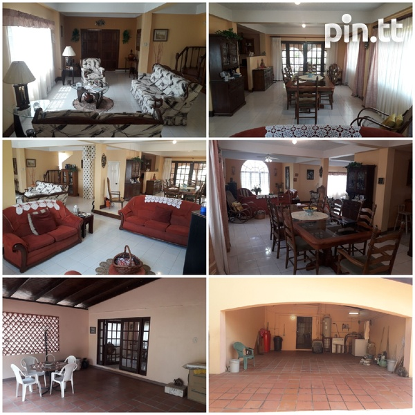 Lovely 4-bedroom fully furnished house Arima-1