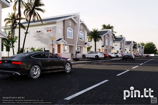 Piarco Duplexes with 3 Bedrooms-3