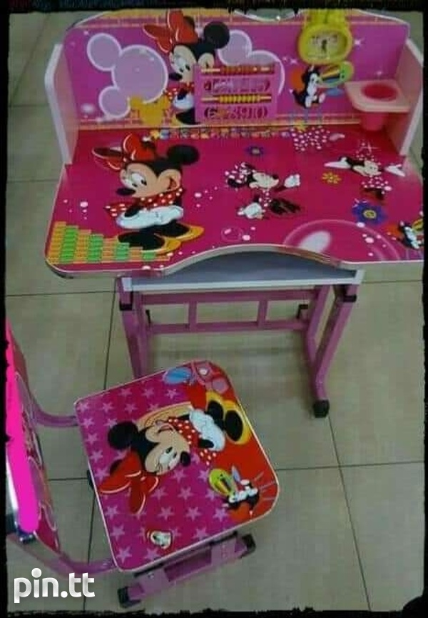 kids adjustable table and chair-3