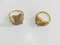 Ladies Gold Rings
