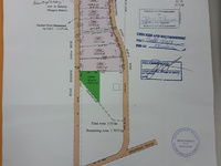 Approved development, large plots