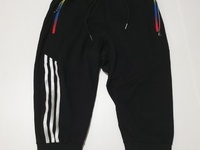 Striped Three Quarter Joggers