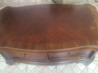 Used Mahogany Cocktail/ Center Table