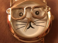 Cat fashion watches