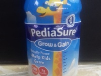 pediasure vanilla, chocolate and strawberry