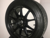Black 17s Rims and Tyres