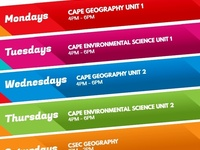 Geography and Environmental Science classes