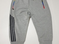Grey Striped 3/4 Joggers