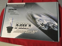 HID bulbs, halo and strobe light kits