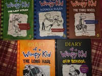 5 Diary Of A Whimpy Kid Books