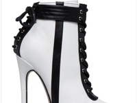 New SACHA CORSET LACE-UP BOOTIE from shoedazzle