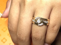 Used 3 pieces wedding ring