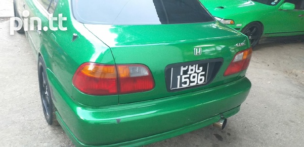 Honda Civic, 1997, PBG-4