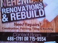 Nehemiah Renovation And Rebuild