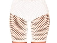 Ladies netted shorts