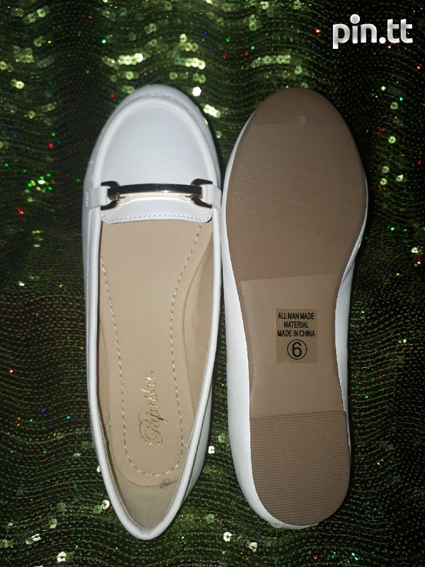 White Loafers for ladies-1