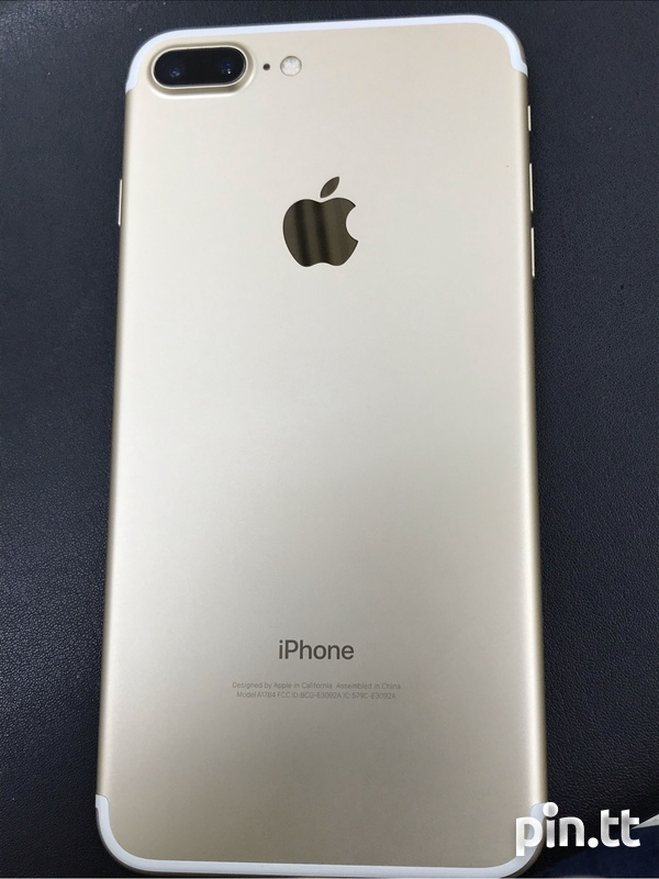 F.S - iPhone 7+ 256gb Gold - Mint-8