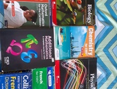 Form 4 and 5 Science,Additional Math,French and English books