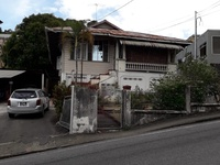 Property on 10,000 sq ft of land