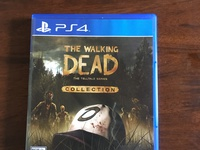 PS4 game the walking dead