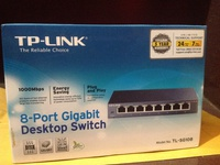 Tp-Link 8 port Gigabit Switch