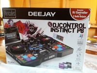 Computer DJ Controller with 2 Audio Outputs