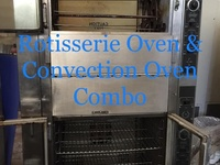 Rotisserie Oven and Convection Oven combo
