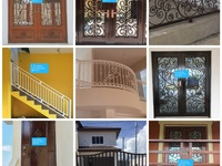 Iron doors, rails, windows and much more