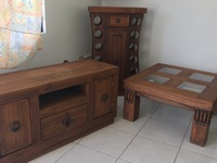 Mexican Antique Furniture Set