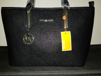 Large Black MK Handbag