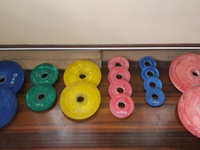 Hercules Weight Bench, Olympic Bar and Weight Plates